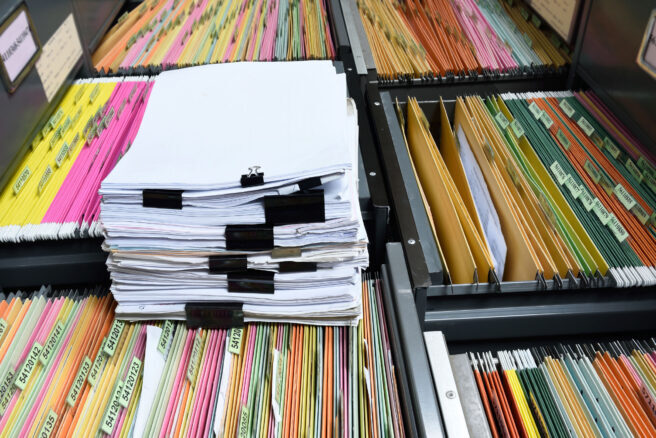 files ready for document translation